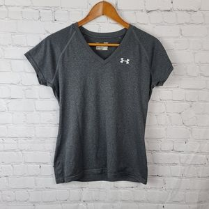 Under Armour women's Gray Semi Fitted T sh…